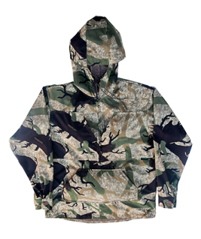 Hooded Pullover (Light Fleece)